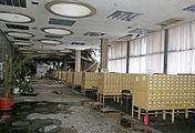 Внутри сгоревшего здания фундаментальной библиотеки РАН, 4 февраля  2015 года