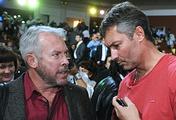 Музыкант Андрей Макаревич и мэр Екатеринбурга Евгений Ройзман