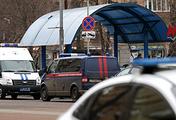 Сотрудники полиции и Следственного комитета РФ на месте задержания няни