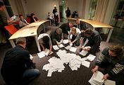 Подсчет голосов по итогам референдума о ратификации соглашения об ассоциации ЕС и Украины