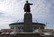 "Строящийся стадион ""Зенит-Арена"" на Крестовском острове"