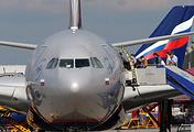 """Посадка пассажиров на борт самолета авиакомпании """"Аэрофлот"""""""