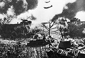 Битва на Курской дуге. Наступление советских войск Степного фронта, 23 августа 1943 года