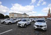 На церемонии вручения автомобилей марки BMW российским победителям и призерам XXXI летних Олимпийских играх в Рио-де-Жанейро