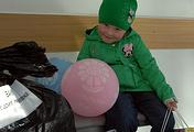 Шестилетняя девочка Маша, которая находилась в больнице на протяжении пяти недель