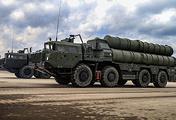 Пусковая установка зенитных ракет комплекса С-400