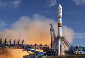 """Запуск ракеты-носителя """"Союз-2.1б"""" с космическим аппаратом нового поколения для Минобороны РФ на космодроме Плесецк, 25 мая"""