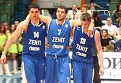 """Баскетболисты """"Зенита"""""""