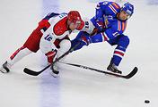 Эпизод матча за Кубок Открытия 2015 года ЦСКА - СКА