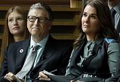 Глава компании Microsoft Билл Гейтс с супругой Мелиндой