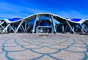 Здание Приморского океанариума