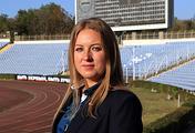 Глава министерства спорта Республики Крым Елизавета Кожичева