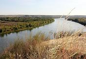 Вид на реку Дон с Лебяжьего Яра — одного из любимых мест Михаила Шолохова