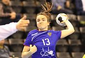Российская гандболистка Анна Вяхирева