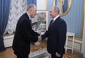 Композитор Родион Щедрин и президент России Владимир Путин