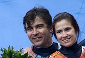 Альберт Демченко и Татьяна Иванова (слева направо)