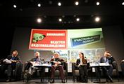 """Во время панельной дискуссии """"Архитектурное пространство: криминологический аспект"""" на XV Международной конференции """"Ковалевские чтения"""""""