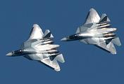 Истребители пятого поколения Су-57 (ПАК ФА)