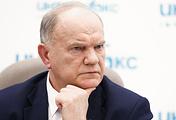 Председатель ЦК КПРФ, глава избирательного штаба партии и народно-патриотических сил Геннадий Зюганов