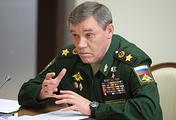 Начальник Генерального штаба Вооруженных сил - первый заместитель министра обороны РФ Валерий Герасимов