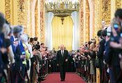 Президент России Владимир Путин на церемонии инаугурации