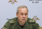 Представитель оперативного командования ДНР Эдуард Басурин