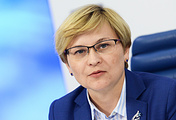 Глава временной комиссии Совета Федерации по развитию информационного общества Людмила Бокова