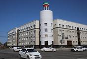 Пересечение улиц Первомайской и Исаева, где произошла перестрелка, Грозный