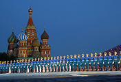 Военнослужащие роты специального караула Президентского полка службы коменданта Московского Кремля ФСО РФ