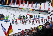 Соревнования по биатлону