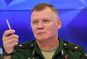 Представитель Министерства обороны России генерал-майор Игорь Конашенков