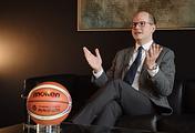 Генеральный секретарь Международной федерации баскетбола Андреас Загклис