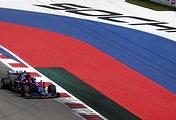 Болид команды Toro Rosso под управлением Даниила Квята