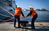 Russian-Chinese naval drills dubbed Maritime Cooperation-2017 began on September 18