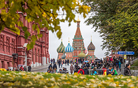 View of St. Basil's Cathedral