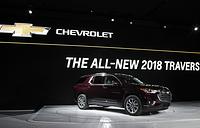 Полноразмерный кроссовер Chevrolet Traverse нового поколения отличается от предыдущего удлиненной колесной базой и более агрессивным дизайном