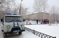 У школы №127 в Мотовилихинском районе Перми