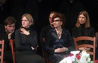Внук М. Державина Павел Золотарев, дочь М.Державина Мария, вдова М.Державина Роксана Бабаян