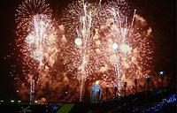 Церемония закрытия XII Паралимпийских зимних игр на Олимпийском стадионе в Пхенчхане