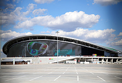 The Kazan arena which will host matches of the FIFA World Cup 2018 in Russia.