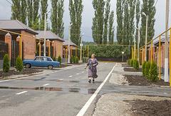 Поселок, построенный для жителей Ца-Ведено, лишившихся домов после оползня