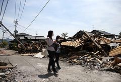 Последствия землетрясения в Японии, 2016 год