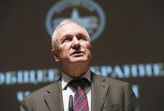 Исполняющий обязанности президента РАН, вице-президент академии Валерий Козлов