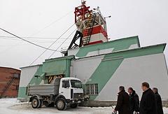 Шахта на территории Малышевского изумрудно-бериллиевого рудника