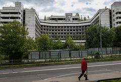 Здание недостроенной Ховринской больницы