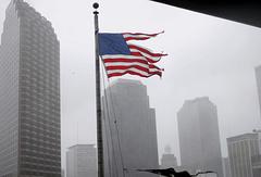 """Во время урагана """"Катрина""""в Новом Орлеане, 2005 год"""