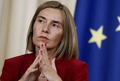 Верховный представитель ЕС по иностранным делам и политике безопасности Федерика Могерини
