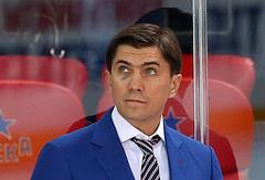 Главный тренер хоккейного клуба ЦСКА Игорь Никитин