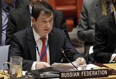 Первый зампостпреда России при ООН Дмитрий Полянский