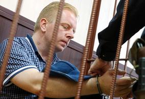 Генеральный директор Российского авторского общества Сергей Федотов в Таганском районном суде
